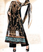 5 five star vogue eid collection 2013 for women black 150x183 Five Star Textile Summer Lawn Prints Collection 2013