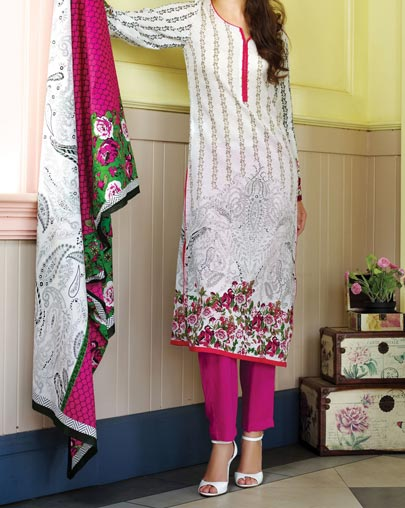 Al Karam Summer Lawn Collection Vol 1 Prices for Women Girls Shalwar Kameez 2875