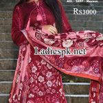 Alkaram Winter Dresses Design Collection 2014 2015 Price