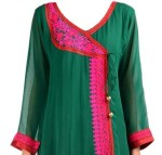 Angrakha Kurti logo 150x143 indian Angrakha Style Kameez for Girls