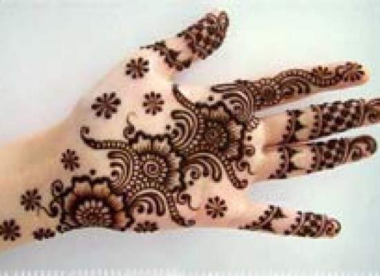 Simple Arabic Mehndi Designs for Hands Images 2013