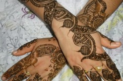 Henna Mehndi for Eid 2012Hand And Foot