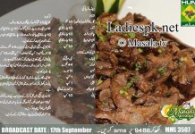 Bakra Eid Beef teriyaki Recipe in Urdu English Masala TV Masala Mornings Shireen Anwar