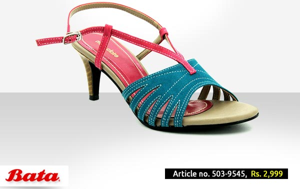 Bata Shoes Pakistan Fall Winter Collection 2014 2015 with Prices for Girls and Women Fashion Formal Red High Heel