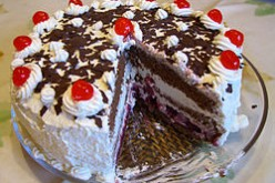 Black Forest Cake Recipe in Urdu & English