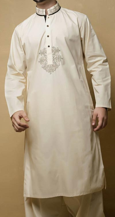 Bonanza 2015 Men Kurta Shalwar Kameez Designs Prices PKR-3,344
