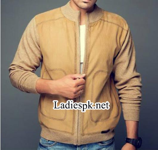 Bonanza-Pakistan-Jackets-Winter-Collection-2014-2015-with-Prices-for-men,-gents-boys-Sleeve-Zipper-4980