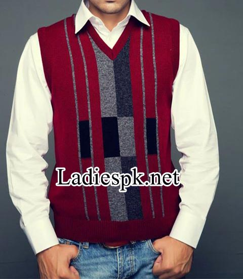 Bonanza Wool-sleeveless-Sweaters-winter-collection-2014-2015-with-prices--Pakistan-for-men,-gents-boys-2630