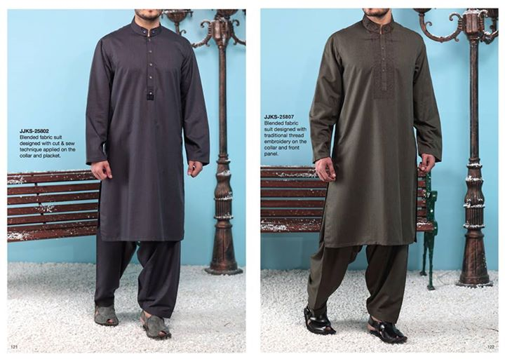 Boys Shalwar Kameez Winter Collection 2014 Junaid Jamshed Men Kurta Design 2015