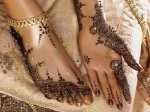 Bridal Mehndi Design For And Foot 150x112 Simple Bridal Foot Mehndi Designs