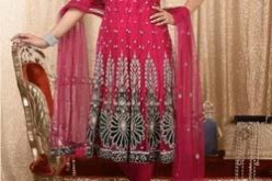 Anarkali Frock Designs 2013 with Churidar Pajama for Bridal