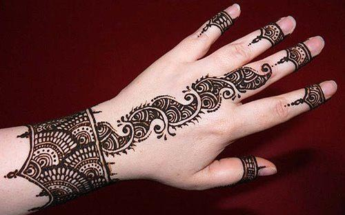 Cute-Party-Arabic Mehndi Designs for Hands 2015 India Pakistan Bangladesh