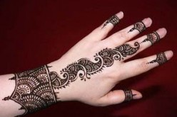Simple Hand Mehndi Designs Images