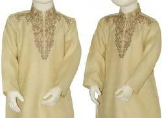 Fancy Kurta Designs For Kids Boys 2013 by Junaid Jamshed