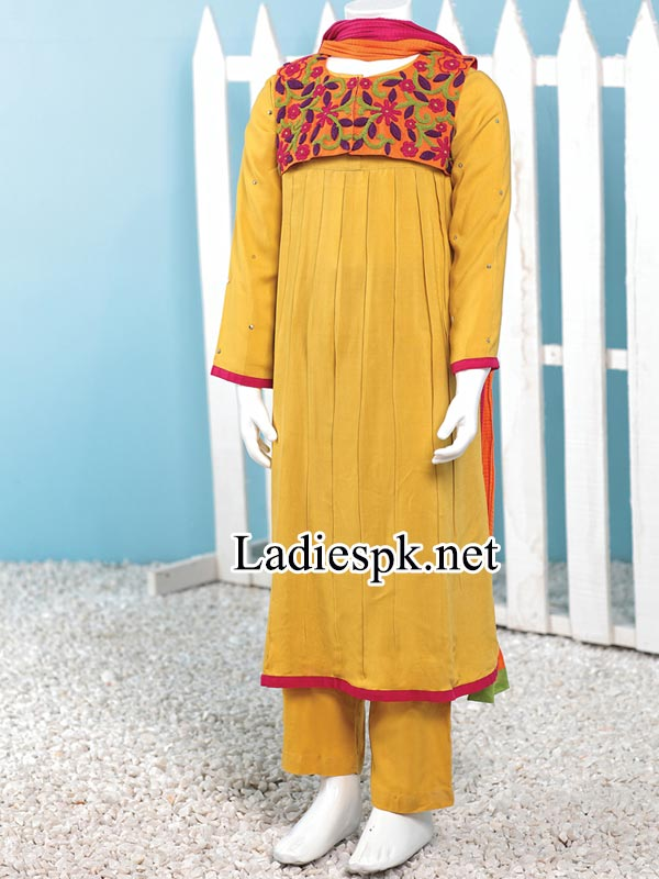 Fashion-JJ-junaid-jamshed-winter-Dresses-collection-2014-2015-for-Kids-Girls-with-prices-PKR-3,785