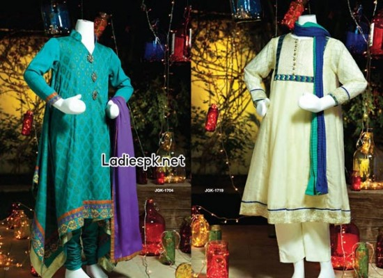 Junaid Jamshed Teen Girls Kids Eid Collection 2014 Price Dress