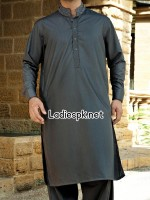 Fashion Trend Summer Junaid Jamshed Boys Eid Kurta Collection 2014 with Price Men Gents KR 4285 150x200 Junaid Jamshed shalwar kameez Suit for men 2013