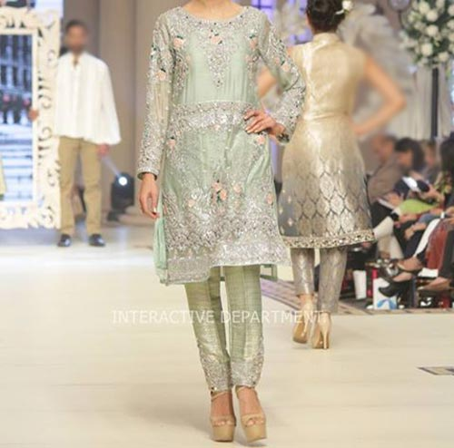 Fashion Trends Dresses Maria B Bridal Couture, Fashion Week 2014 2015 Collection