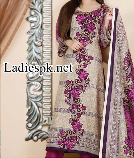 Fashion of Shalwar Kameez Naveed Nawaz Textile Star Classic Khaddar Collection 2014 2015 Dress