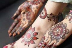 Latest Fancy Bridal Mehndi Designs for Foot