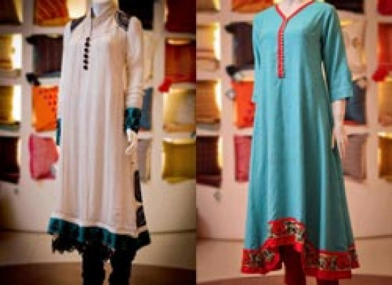 Naj Frock Design 2013 Collection Frocks & Choori Pajama