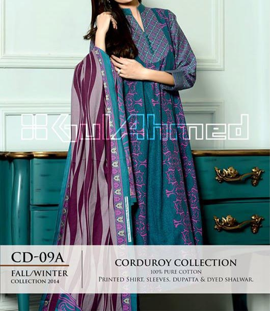 Gul-Ahmed-Fashion-Winter-Collection-2014-2015-from-Magazine-for-Women-and-Girls-Price-2900