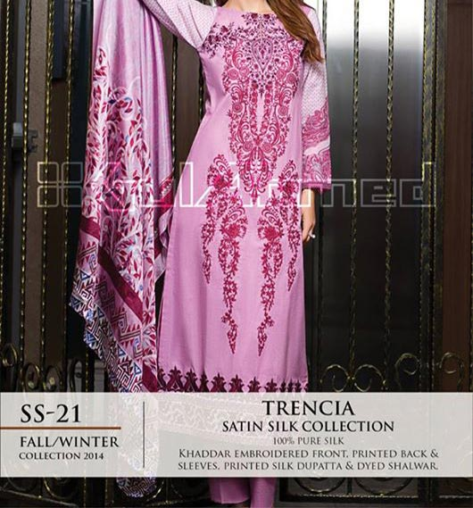 Gul-Ahmed-Fashion-Winter-Collection-2014-2015-from-Magazine-for-Women-and-Girls-Price-PKR-5000