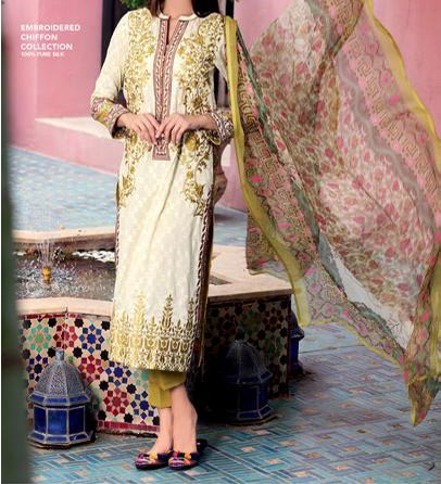 Gul Ahmed Festive Eid Shalwar Kameez Collection 2015 Catalog and Magazines