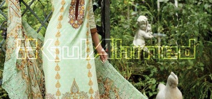 Gul Ahmed Summer Lawn Prints Collection 2015 Vol 1 Prices