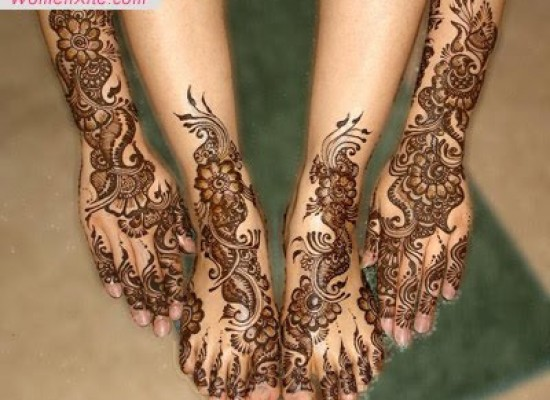 EID Henna Mehndi Design for Hand and Foot