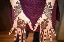Arabic Henna Mehndi Design for Hands Pakistani & Indian 2015