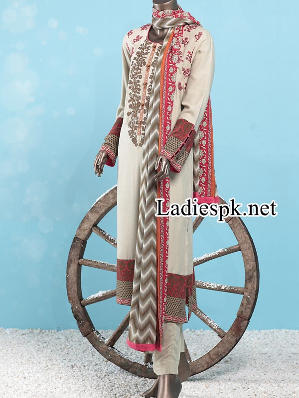 J.-Junaid-Jamshed-Kurti-Winter-Collection-2014-2015-with-Prices-Facebook-PKR-5,785