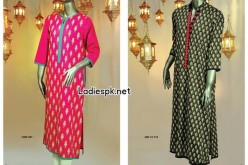 Junaid Jamshed Eid Kurti Design Collection 2014 for Girls Women