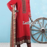 Junaid Jamshed Winter Kurti Design Collection 2014 2015 Prices