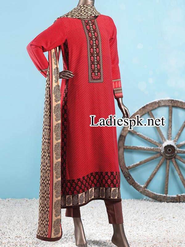 Junaid-Jamshed-Kurti-Winter-Dresses-Collection-2014-2015-with-Prices-Facebook-PKR-5,285