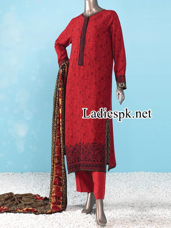 Junaid-Jamshed-Kurti-Winter-Dresses-Kameez-Salwar-Collection-2014-2015-with-Prices-Facebook-PKR-5,885
