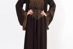 Simple & Fancy Abaya Designs 2015 in Pakistan Dubai UAE