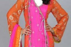 Angrakha Fashion in Pakistan and India