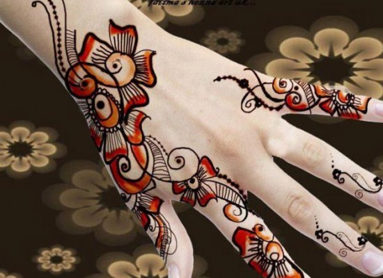 Fancy Hand Mehndi Designs For Women