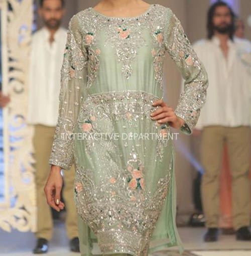 Latest Fashion Trend Dresses Maria B Bridal Couture, Fashion Week 2014 2015 Collection