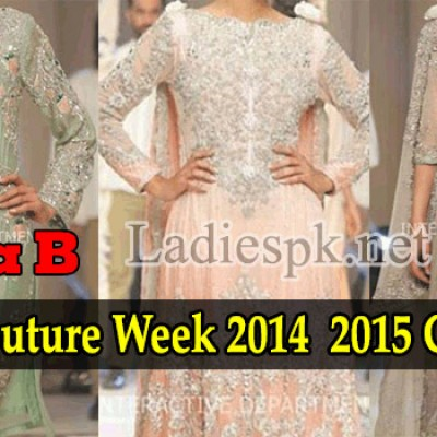 Maria B Bridal Couture, Fashion Week 2014 2015 Collection