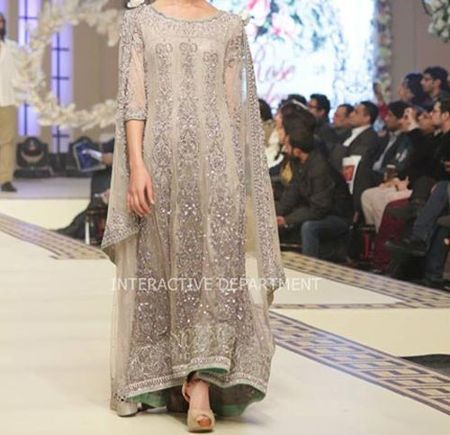 Latest Fashion Trends Dresses Maria B Bridal Couture, Fashion Week 2014 2015 Collection