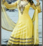 Latest Pakistani Indian Frock Design for EID 2013 for Girls 150x160 Top Fancy Wedding & Party Dresses 2013, Frocks for Girls