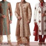 Latest Stylish and Fancy Sherwani Designs 2015 for Grooms Men in Pakistan India 2014 facebook 150x150 Latest Sherwani Designs for Men