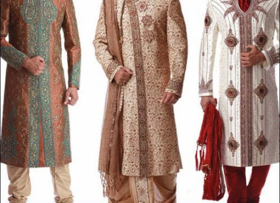 Stylish & Fancy Sherwani Designs 2015 for Pakistani Grooms, Men