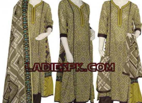 Junaid Jamshed Lawn Collection 2013 Kaliyon wali Shirts