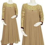 Long Frock Style for Girls 2013 logo 150x151 Indian Anarkali Frock Designs 2013 with Pajama for Girls
