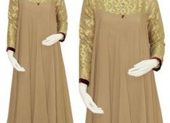 Long Umbrella Frock Style for Girls 2013 – Junaid Jamshed