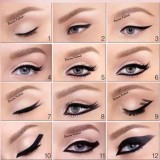 Beautiful Eyeliner Styles For Small & Big eyes 2014 Images