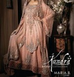 Maria B Bridal Collection 2014 150x156 Latest Pakistani Bridal Dresses Collection 2014 for Walima